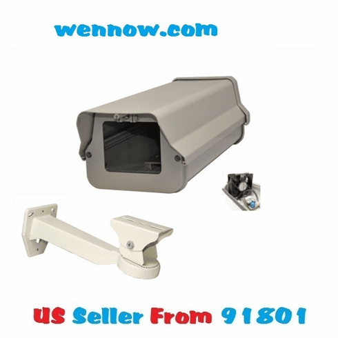 H805HB w Heat Fan Braket Housing for CCTV Camera