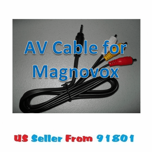 Magnavox 3.5mm AV Cable for Portable DVD Player