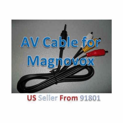 Magnavox 3.5mm AV Cable for Portable DVD Player w15