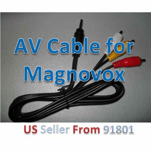 Magnavox MPD845 3.5mm AV Cable for Portable DVD Player
