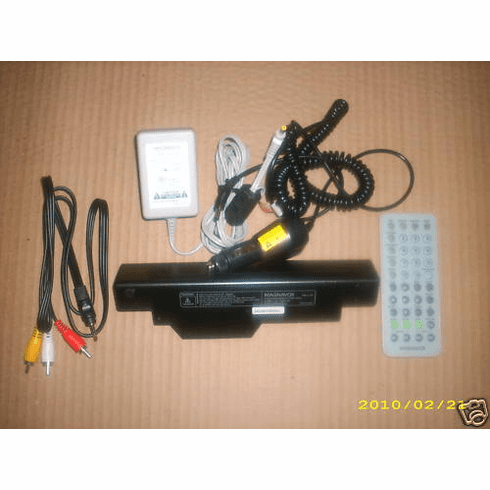 Magnavox Poatable DVD Player Accessoies Pack for MPD845