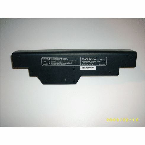 Magnavox RB-Li 55 Rechargeable Battery Pack