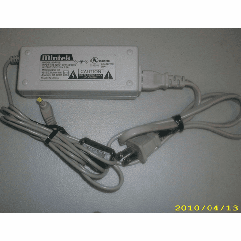 Mintek ADPV08 9V 2.2A AC Power Adapt