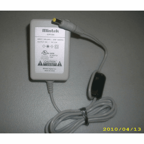 Mintek ADPV28A 9V 2.2A AC Power Adapter