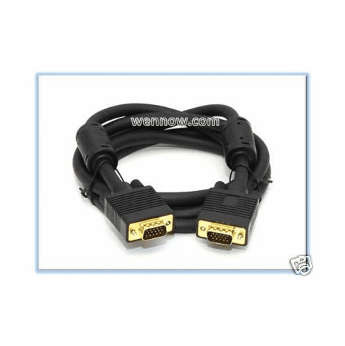 PC to TV SVGA Super VGA M/M Monitor Cable 6FT