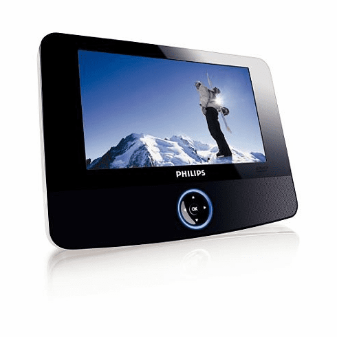 """Philips 7"""" Portable DVD Player PET723/37"""