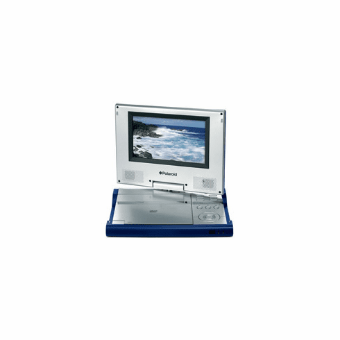"Polaroid DPA-07042S Portable DVD Player with 7"" Swivel Screen"