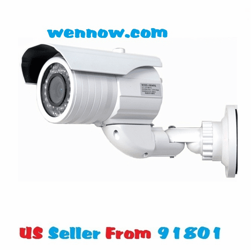 Q-see QSC1385R Weatherproof CCD 540TVL Camera 70ft Night Vis