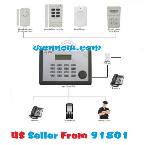 Q-See QSDL503AD DIY Wireless Security Alarm System