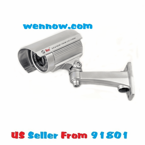 QSDS1316D Outdoor CCD Camera 600TVL 80ft Night Vision