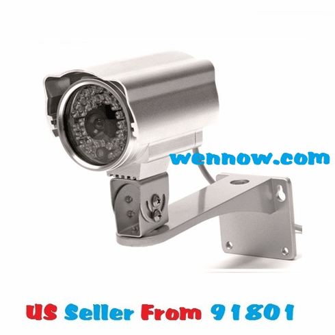 QSDS3636W Outdoor CCD Camera 480TVL 65ft Night Vision