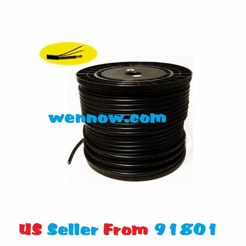 RG59 Siamese Cable Video/Power - 500ft Spool for CCTV