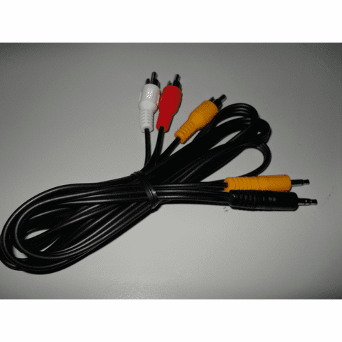 RjTECH 3.5mm AV Cable for RjTECH Portable DVD Player