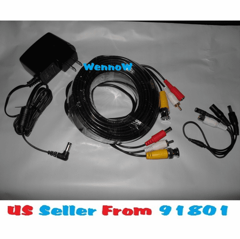 Security CCTV Powered High Sensitive Microphone with Power Supply