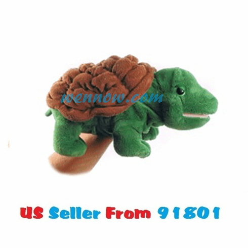 Timmer the Plush Turtle Full Body Puppet By Aurora