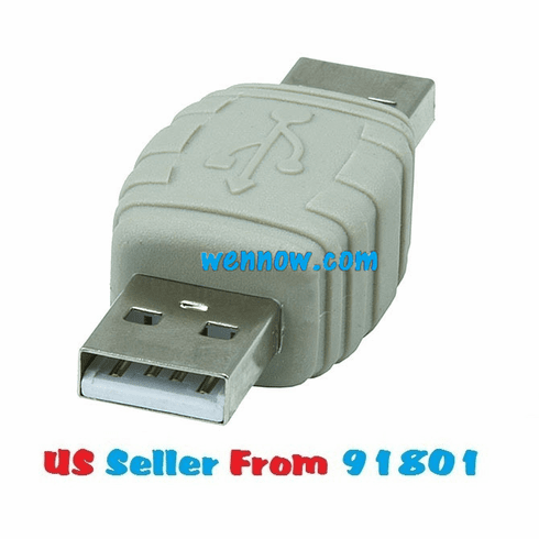 USB 2.0 Type A Male to A Male Gender Changer Adapter