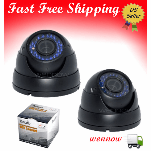 VariFocal Home CCTV Dome Night Vision Camera with Audio CM-S23209BK-AD