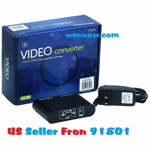 VGA Video Audio to Digital 1080P HDMI 1.3 Converter
