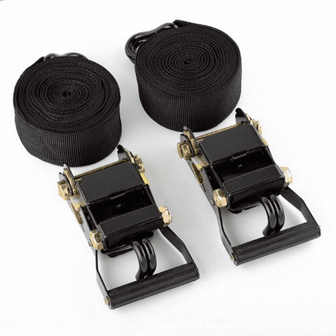 "WennoW 2pcs (1 Sets) of 2"" X 20 Ft Ratchet Tie Down Tow Strap Hauling Cargo Tools"