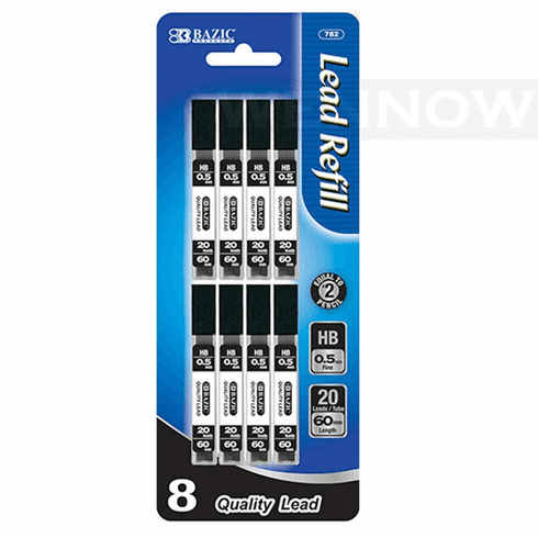 Wennow HB 0.5 mm Mechanical Pencil Refill Lead (8 Tube each pack)