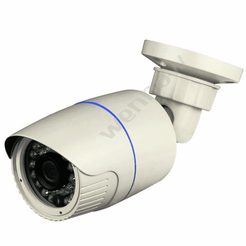 White 30 Pcs IR LED IR Bullet Camera 2MP 4.2mm CCTV Security Camera