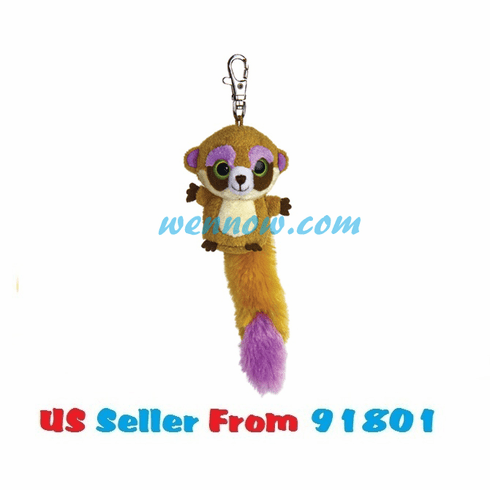 YooHoo And Friends 3 Inch Plush Pookee The Meerkat Clip On Stuffed Ani