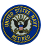 U.S. Navy Retired Patch