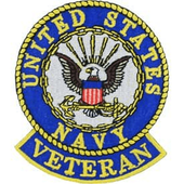 U.S. Navy Veteran Patch