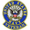 U.S. Navy Veteran Patch - OUT OF STOCK