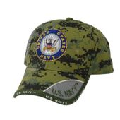 US Navy Round Logo Digital Pixel Hat