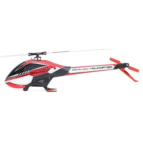 ALZRC Devil 380 3D 6CH FAST FBL RC Helicopter KIT Red