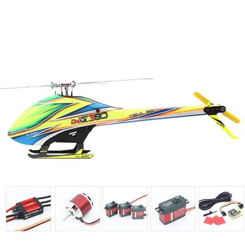 ALZRC Devil 380 Tri-Blade Rotor 6CH 3D FBL Heliopter Combo
