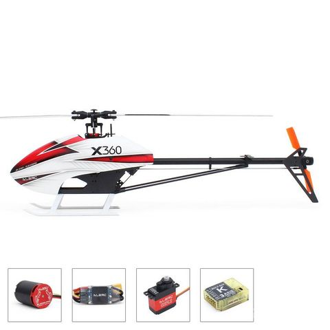 ALZRC Devil X360 FBL 3D Helicopter Combo for Beginners