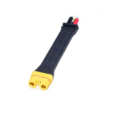 Amass AS150U Female Connector Anti Spark with Signal Pin with Long Silicone Wire Protective Cover