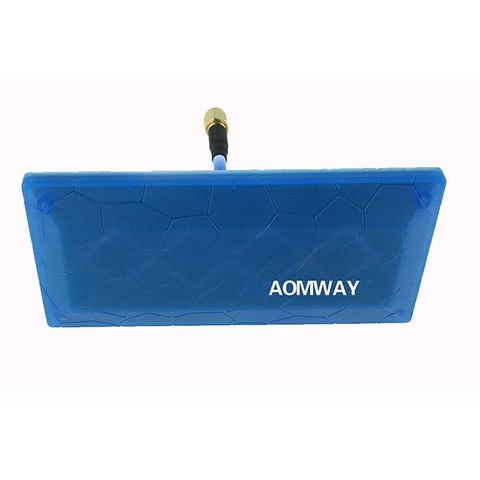 Aomway 5.8G 13DBi Patch Antenna FPV Panel Antenna SMA RP-SMA for Racing Drones Goggles