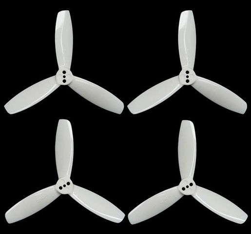 ARRIS 3045 3 Inches 3-blade Durable Propeller Blade White(2 Pairs)