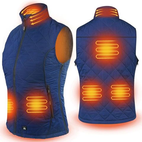 ARRIS 7.4V Heated Vest for Women Warm with 7.4V 7200mah Battery Pack