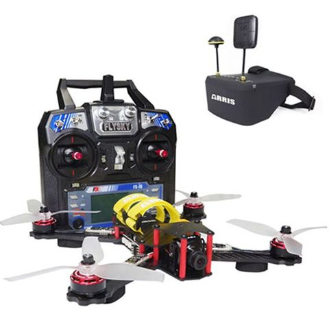 ARRIS C250 FPV Racing Quad FPV RTF Combo with EV800D Goggle