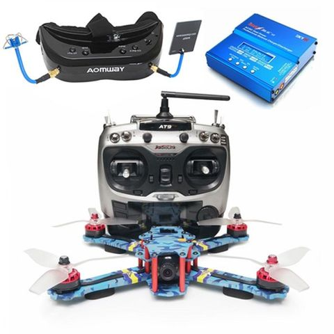 ARRIS C250 V2 FPV Racing Drone RTF with Aomway Commander V1S FPV Goggle Boundle