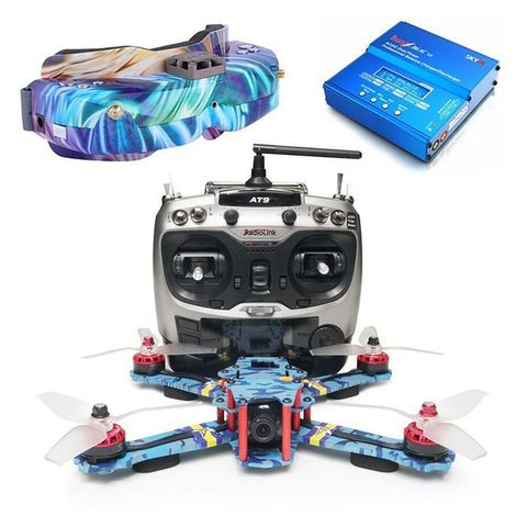 ARRIS C250 V2 FPV Racing Drone RTF with Skyzone SKY02C Fpv Goggle Boundle(US warehouse)