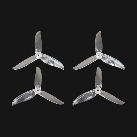 ARRIS T5045C PRO 3-blade Durable Propeller Blade for FPV Racing Drones (Transparent)