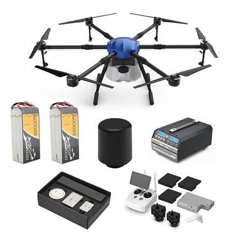 ARRIS E616 6 Axis 16L UAV Agriculture Spraying Drone DJI Agriculutre Solution Kit N3-AG Radar
