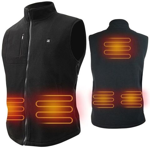 ARRIS Electric Heated Vest Size Adjustable 5V USB Warm Vest For Outdoor Camping Hiking