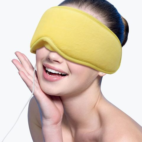 ARRIS Electric USB Heated Eye Mask with 5 Temperature Control Warm Treatment for Relieving Insomnia, Dry Eye