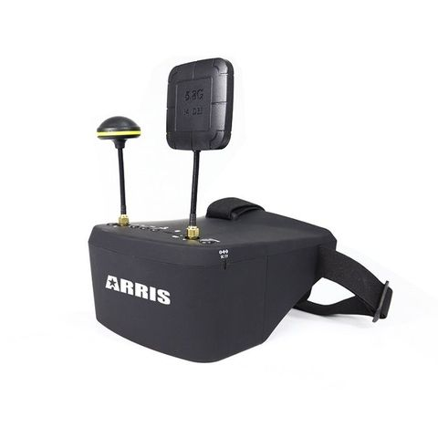 ARRIS EV800D 5inch 5.8g HD DVR 800 x 480 FPV Goggles w/ Receiver Built-in Battery(US Warehouse)