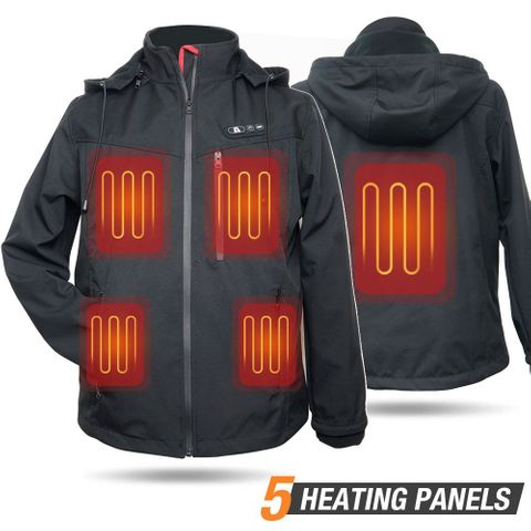 ARRIS Heated Jacket for Men Warm heating Coat with 7.4V Battery