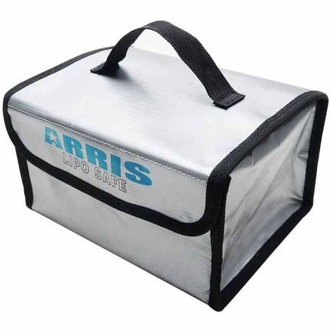 ARRISHOBBY RC Lipo Battery Safety Bag for Safe Charging & Storage (215 x 160 x 115mm)