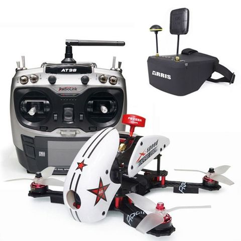 ARRIS X-Speed 280 V2 RTF with ARRIS EV800D FPV Goggle (US Warehouse)