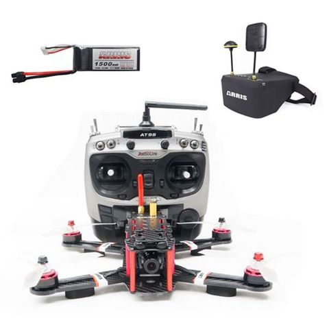 ARRIS X-Speed 250B FPV Racing Drone RTF with EV800D Goggle with 2 Battery (Free Shipping)