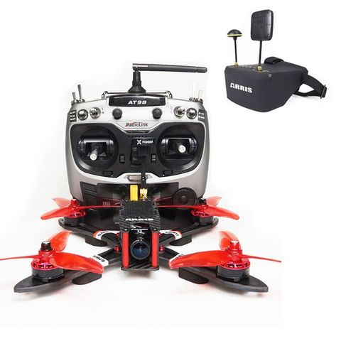 """ARRIS X220 V2 220MM 5"""" FPV Racing Drone with EV800D FPV Goggle (US Warehouse)"""